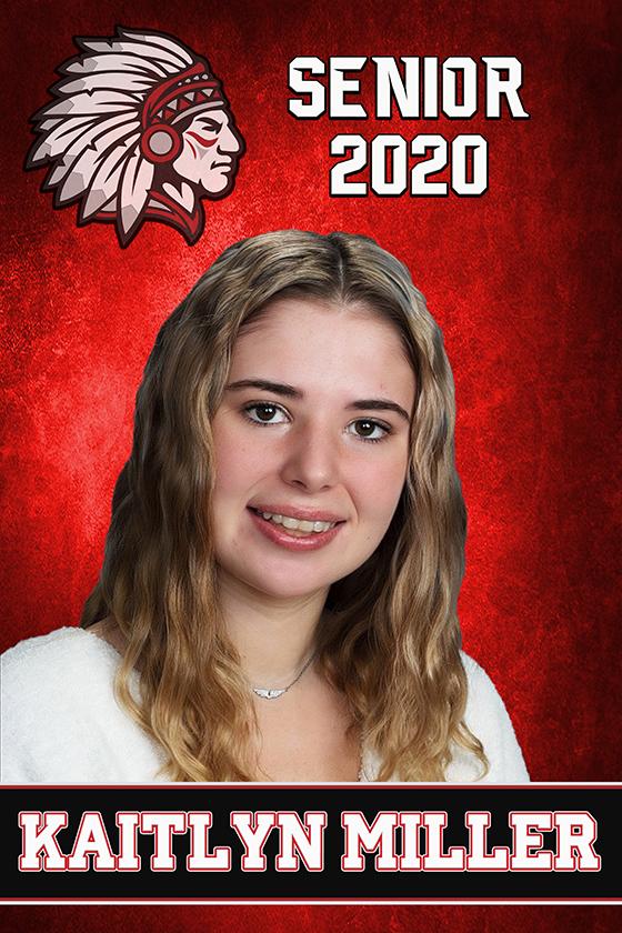 Cherokee (OK) SR Banner 2020 - Kaitlyn M