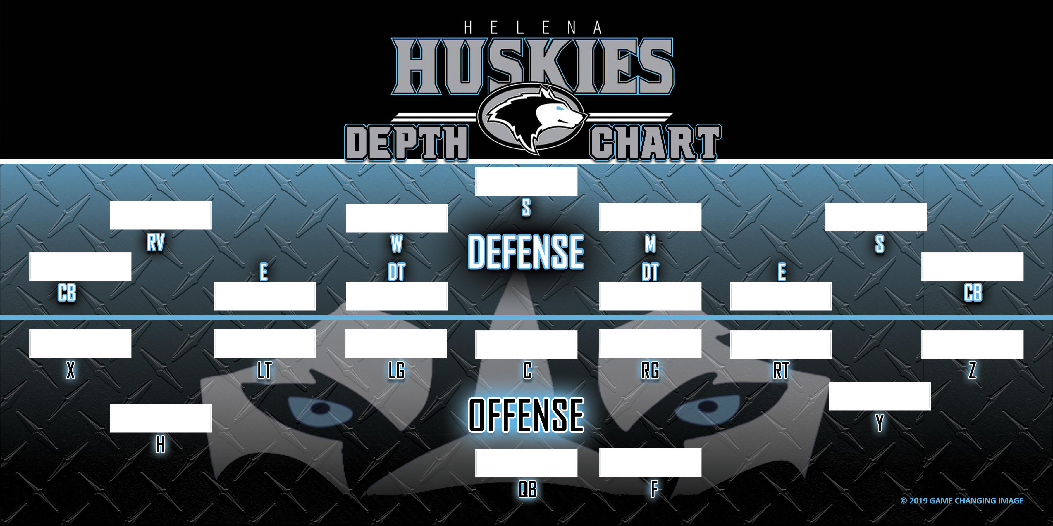 HELENA HUSKIES DEPTH CHART PROOF