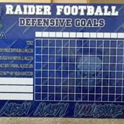 Wylie East FB Goals Board 2019 - Live