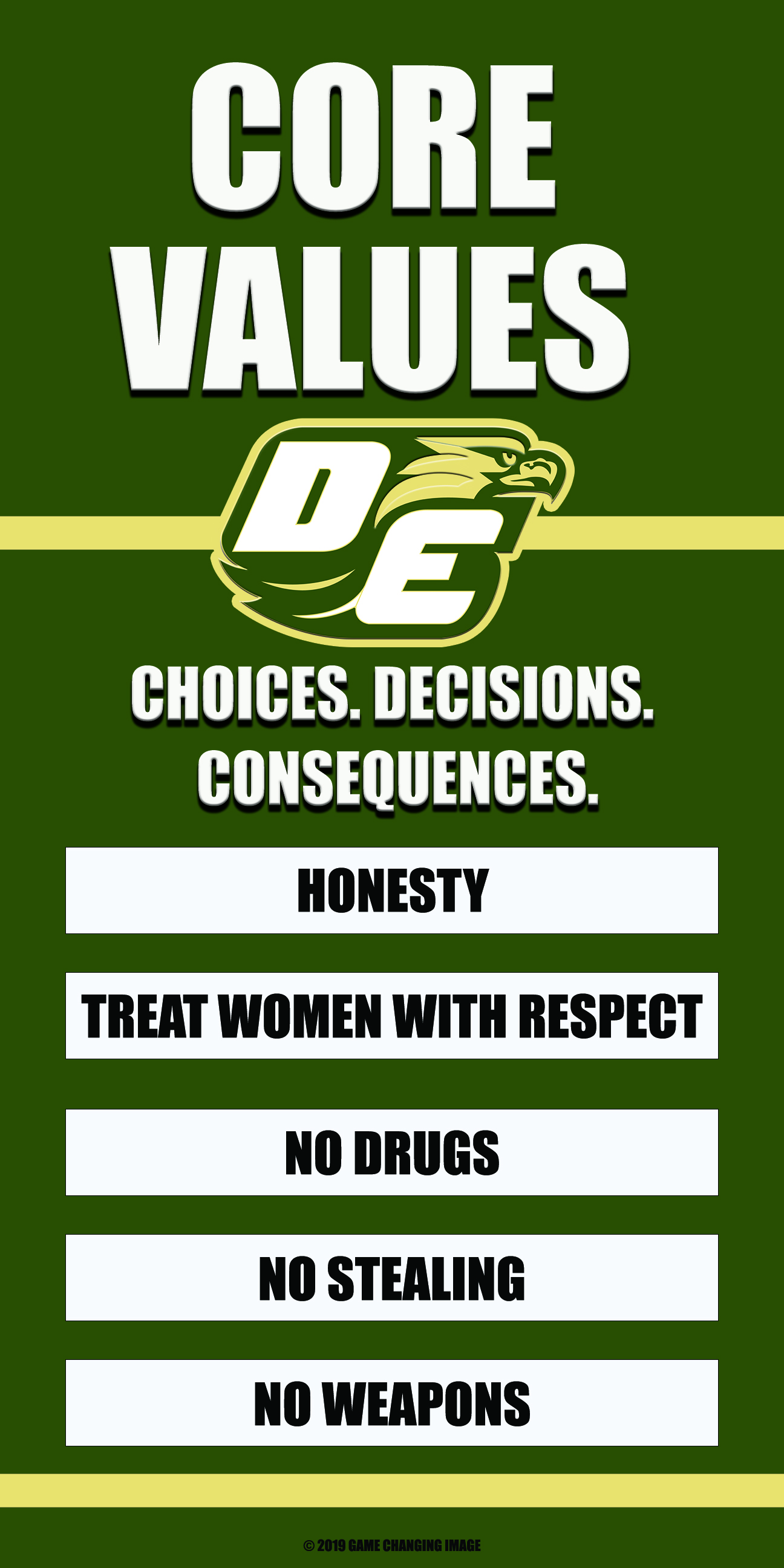 CORE VALUES 2X3-DESOTO