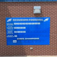 Claremore Sequoyah FB Champ Board 2019 -