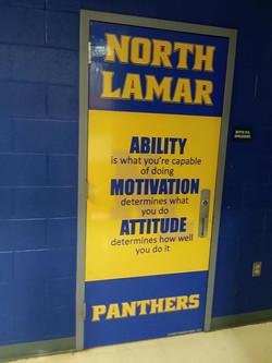 North Lamar Panthers Door 2019 - Live