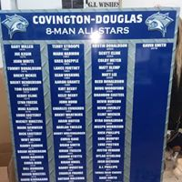 Covington-Douglas All Star Board 2019 -L