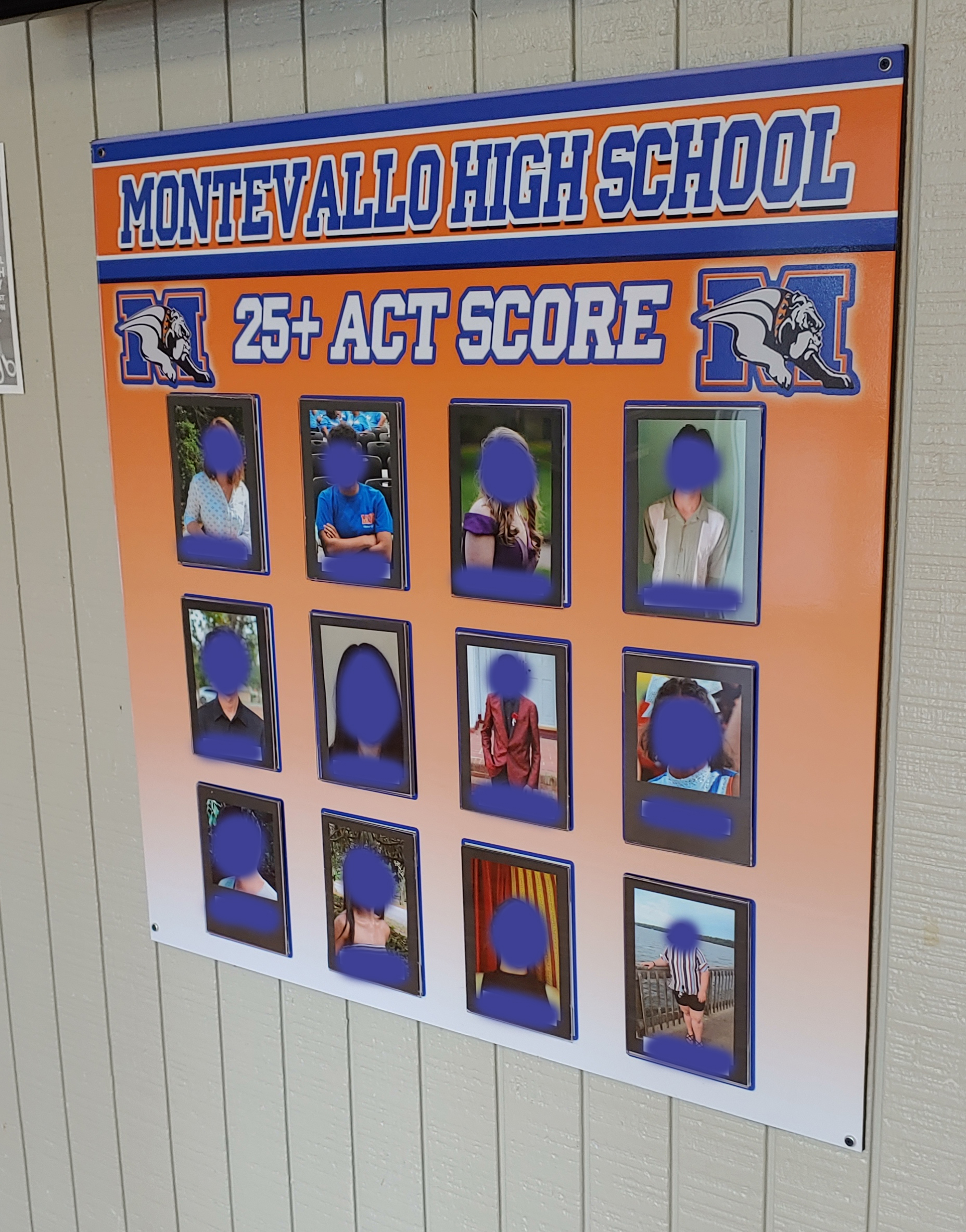 Montevallo ACT Board 1 - 2019 Live