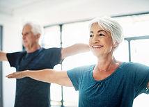 seniortrening sammen godt voksne