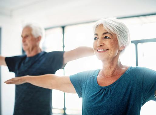 Les recommandations d'activité en termes de durée et fréquence pour les personnes de 65 ans.