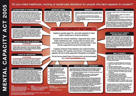 Mental Capacity Act 2005 - wall chart