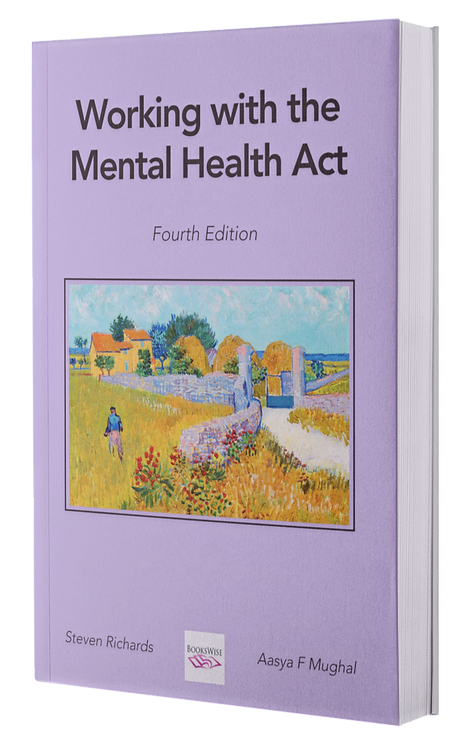 Working with the Mental Health Act - book