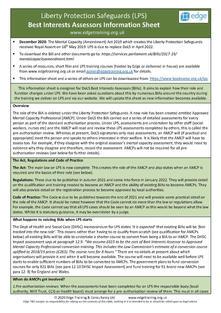 BIA to AMCP information sheet