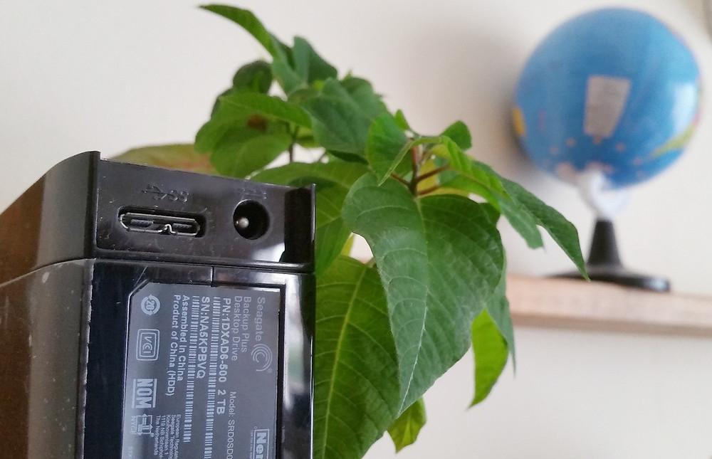External Hard Drive Seagate USB 3.0, Micro - B