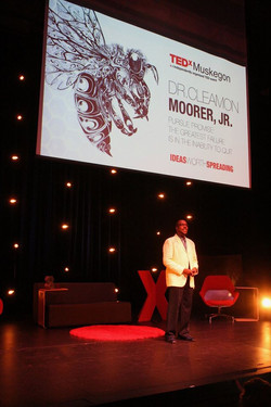 Debut at TEDxMuskegon - 2016