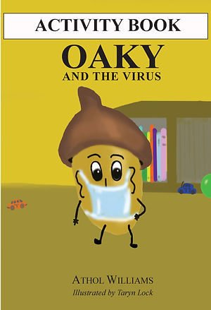 OAKY AND THE VIRUS - ACTIVITY BOOK - COV