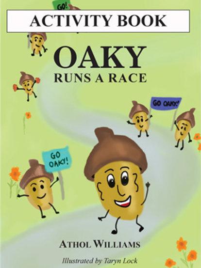 Oaky Runs A Race Activity Book