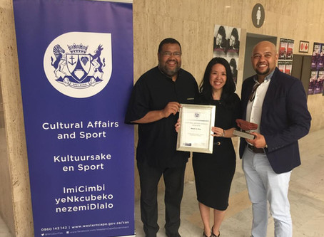READ to RISE wins Western Cape Cultural Affairs Award