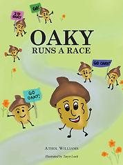 Oaky runs a race - Front Cover 060318.jp