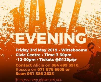 Jazz Evening 3 May 2019