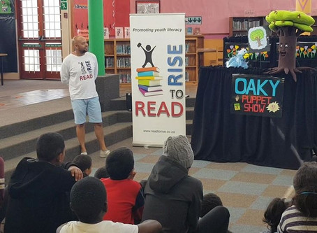 Literacy NGO launches new Puppet Show at libraries in Cape Town