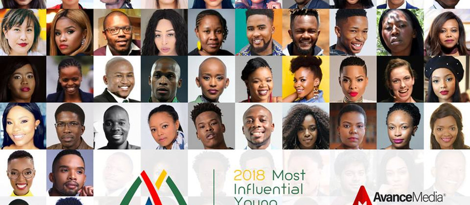 2018 100 Most Influential Young South Africans