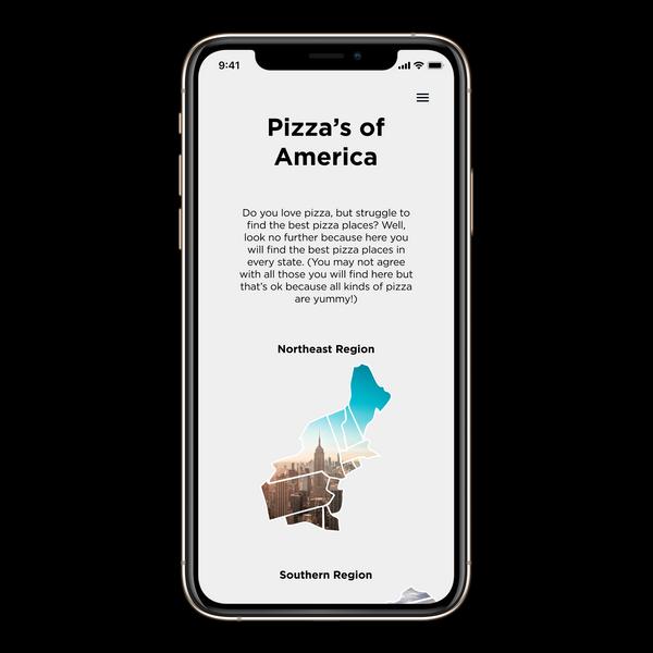 Pizza's of America App