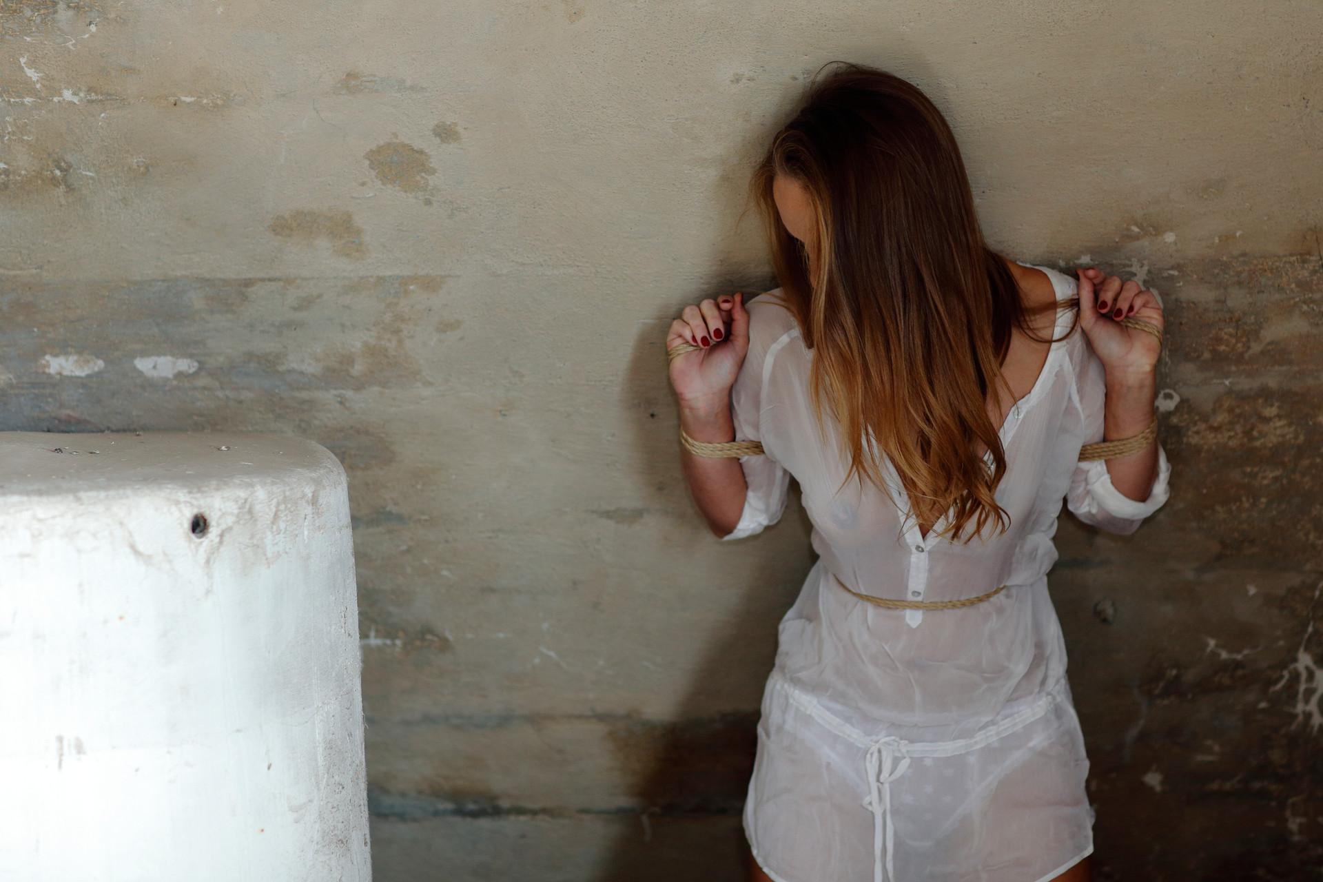 bondage on wall