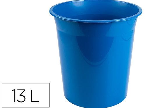 Corbeille papier plastique resistant 13L
