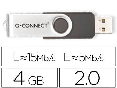 Clé usb q-connect 2.0 4gb