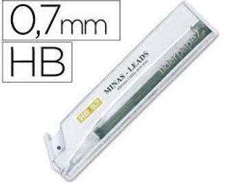Etui 12 Mines Liderpapel 0.7mm HB