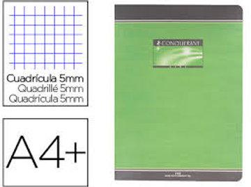 Cahie  24x32cm 192 pages 70gr petit carreaux