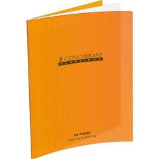 Cahier couverture polypropylène A4+ 24x32 48pages