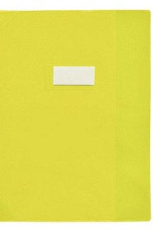 protege cahiers 24x32 jaune