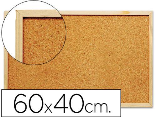 Tableau liège cadre bois 60x40cm