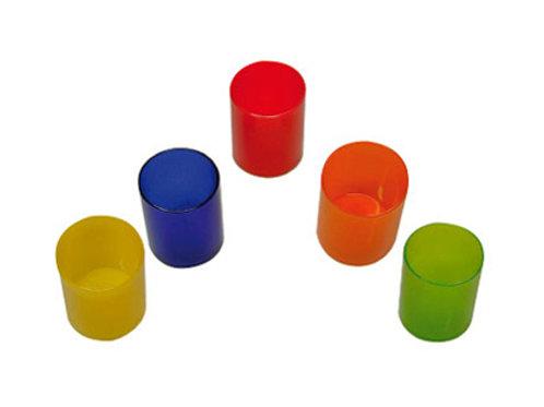 Pot à crayons économique polypropylène translucide