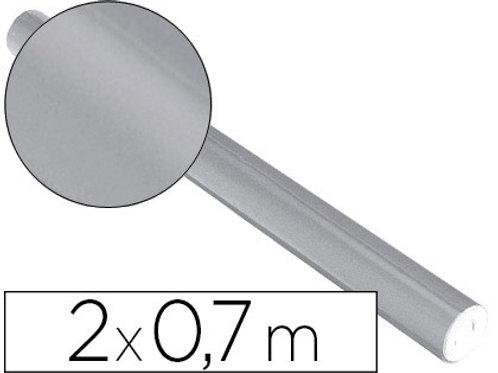 Rouleau de Papier métallisé Argent 0.7x2m