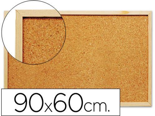 Tableau liège cadre bois 90x60cm