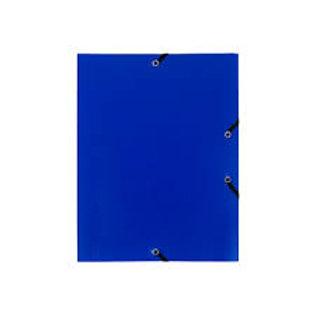 Chemise polypropylène 4/10e 3 rabats élastiques A4+ 240x320