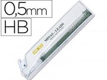 Etui 12 Mines Liderpapel 0.5mm HB