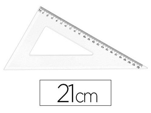 Équerre jpc 60 degrés 21cm cristal.