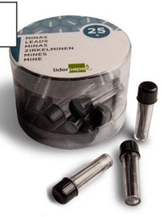 Mine pour compas 2mm étui 3 unités.