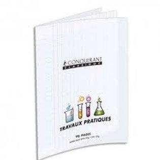 Cahier travaux pratiques  couverture pp incolore A4 96 p