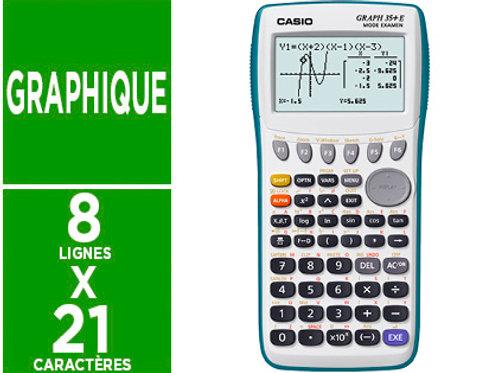 Calculatrice Casio graphique graph 35+e