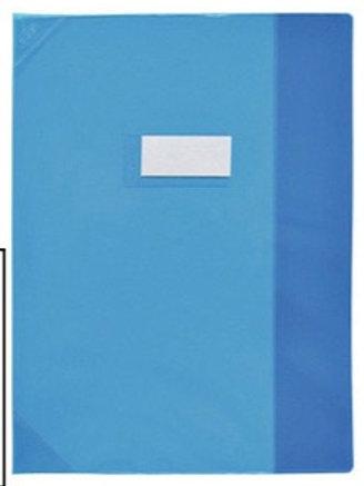 protege cahiers 24x32 Bleu