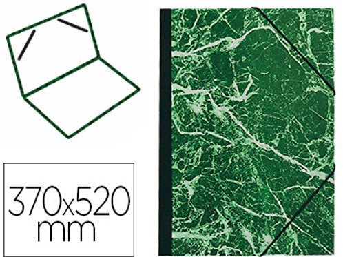 Carton a dessin  fermeture élastique 370x520mm