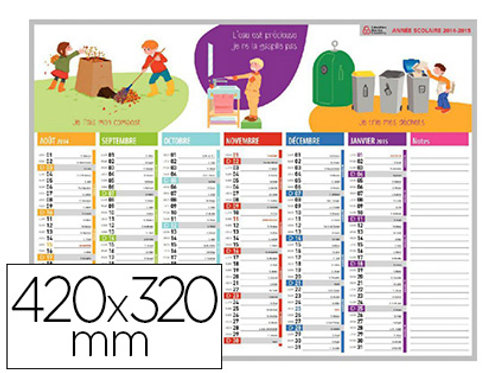 Calendriers 42x32