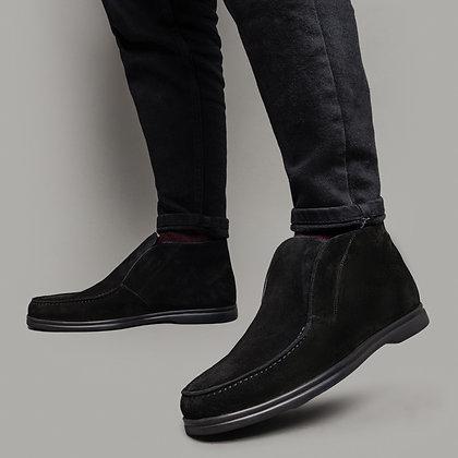 Замшевые осенние ботинки