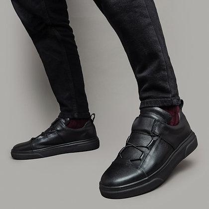 Черные casual кеды