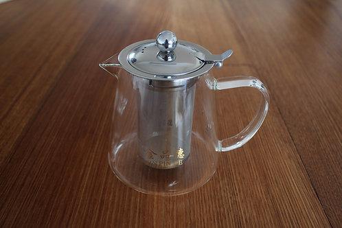 Glass Teapot Jug Shaped (800ml)