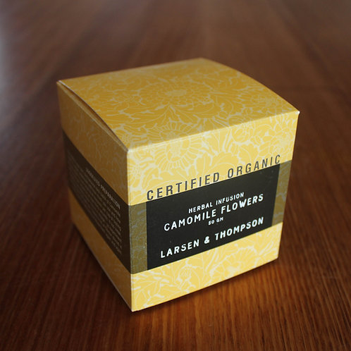 Organic Herbal Infusion • Camomile Flowers (50gm)