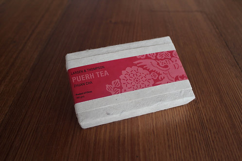 Puerh Tea • Zhuan Cha (250gm rectangular tea brick)