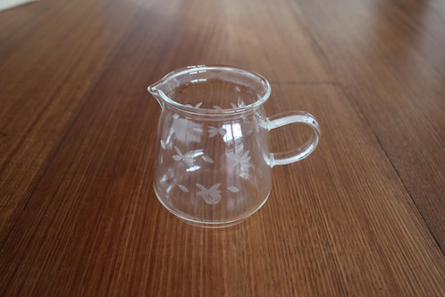 Etched Glass Jug (400ml)