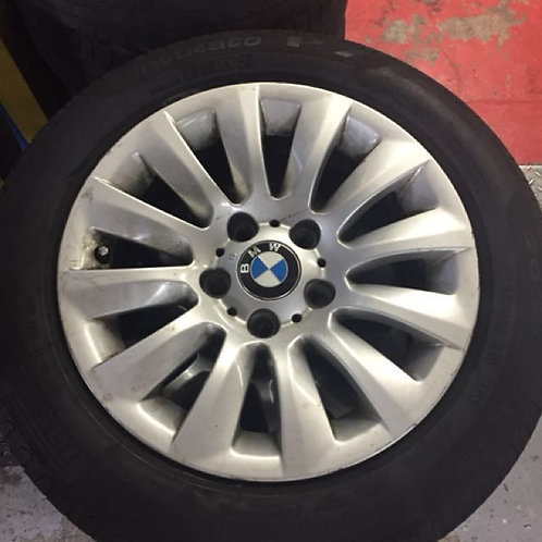 "BMW 16"" stock rims with Pirelli P7 tyres"